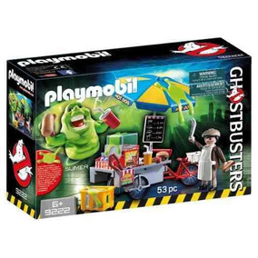 Slimer Con Stand De Hot Dog Playmobil R4597