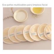 Eco Paños Demaquillantes Reutilizables De Higiene Facial 7 U