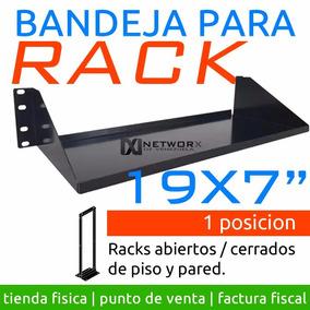 Bandeja Rack Abierto Cerrado 19 19x7 1u Excelente Calidad