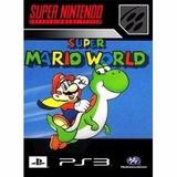 Mario World Para Ps3 Desbloqueado Envio Por Email!