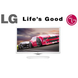 Tv Monitor Lg Led 24mt49df-ws Branco - Com Nota Fiscal