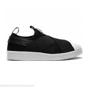 9cb0e8bff2 Tenis adidas Slip On Superstar Unisex Original Black Top