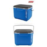 Caixa Térmica Coleman 16 Qt - 15,2l - Azul,branca,cinza