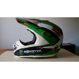 Capacete Importado Motocross Trilha Thor Monster Pro Circuit