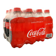 Refresco Coca Cola Original 12 Botellas De 355 Ml C/u
