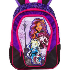 Mochila De Costas Sestini Tam. G - Monster High Scaris