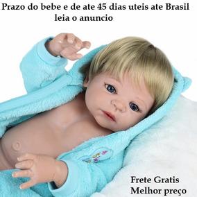 Bebê Reborn Menino, Boneca Promoção ,silicone Frete Gratis