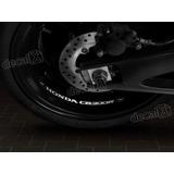 Adesivos Centro Roda Refletivo Moto Honda Cb300r Rd9