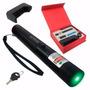 Super Caneta Laser Pointer Verde + Kit Completo Cp48