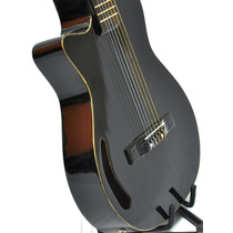 Guitarra Electro Criolla Acustica Zurda1/2 Caja Funda + Gtia