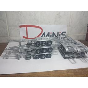 Chassis Carreta 3 Eixos Completa - Dminis (igual Arpra)