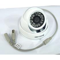 Câmera Infra Dome 24 Leds 800tvl Cmos Ir-cut Ntsc Até 30m