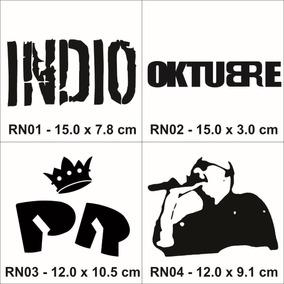 Calco Rock Nacional- Indio, Ciro, Piojos, Redondos, La Renga