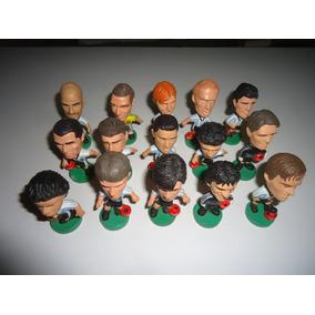 Jugadores De Futbol Cabezones 15 Unidades Vendo El Lote.