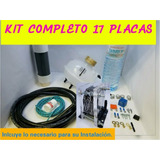 Kit Celda Seca 6y8 Cil 17 Placas Hho Hidrogeno