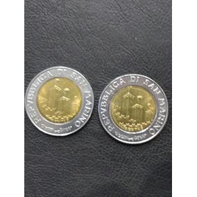 Italia Moneda De 500 Liras República De San Marino Año 1993