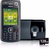 Celular Desbloqueado N70 Preto C/ Câm 2mp, Mp3 ,fm