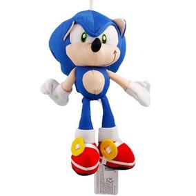 Nuevo Peluche Sonic Sega Gamer Hedgehog Erizo