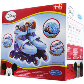 Patines Rollers Extensible Frozen Mickey Sofia Minnie Disney