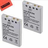 Bm Premium 2-pack De Baterías En-el5 Para Nikon Coolpix P80,