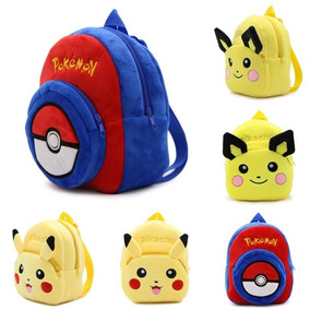 New Fashion Pokemon Go Pikachu Children School Bags Kinderga