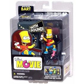 Boneco Mayhem Bart Coleção The Simpsons Mcfarlane Com Áudio