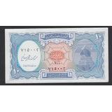 Billete De Egipto 10 Piastras Años 2000 Nuevo Unc (c85)