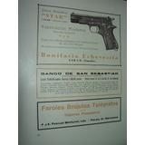 Clipping Antigua Publicidad Armas Pistolas Star Armeria