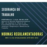 Normas Regulamentadoras 1 A 36 Atualizada Até 11/2016 (pdf)