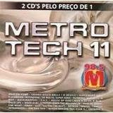Cd Duplo Metrotech 11 (98.5 Radio Metropolitana)