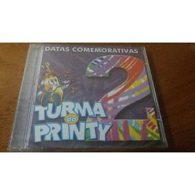 Cd Turma Do Printy - Datas Comemorativas 2 Inclui Playbacks