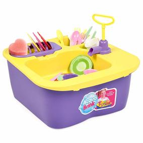 Acqua Brink Pia De Louças 8000 Homeplay Brinquedo Infantil