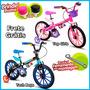 Bicicleta Infantil Nathor Aro 16 Feminina Ou Masculina Top