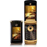 Celular Motorola Motorazr V8 Luxo-dourado Ja No Brasil