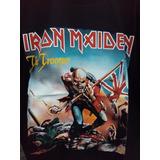 Remera Rock Iron Maiden The Trooper L27