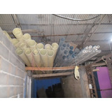 Tubos Plasticos 3 X 3 Mts Largo Amarillos