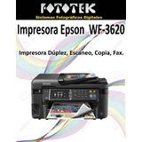 Impresora Epson Wf-3620
