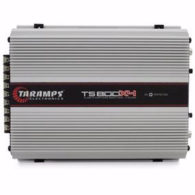 Taramps Ts800 X4 Amplificador Digital 800w Rms Mono Estereo