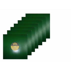 Capa Para Disco Vinil Lps Djs 12 Polegada (10 Unid) Verde