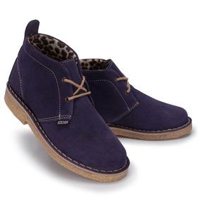 Bota Desert Boots - Sola Crepe - Couro Camurça - Stilo 775