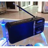 Radio Am Fm Recargable, Usb Y Micro Sd Excelente Sintonía