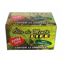 Óleo De Menta Life - 12 Unidades + Brinde