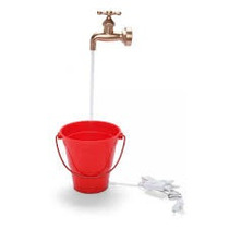 Torneira Magica Fonte Para Enfeite E Gatos Tomar Agua 110v