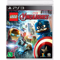Lego Vingadores - Jogo Ps3 - Dublado