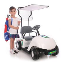 Carro Carrito De Golf Pro Bateria 6v Kid Motorz Nb