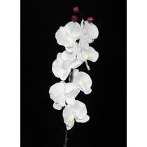 25 Orquideas Artificiais Brancas - Atacado Artificial Flores