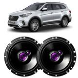 Par Falantes Pioneer Portas Traseira Hyundai Grand Santa Fe