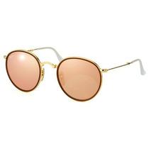 Óculos De Sol Rayban Rosa Novo Made In Italy Pronta Entrega