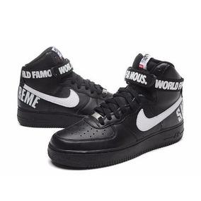Tênis Masculino Nike Air Force Cano Alto Supreme 2pares!