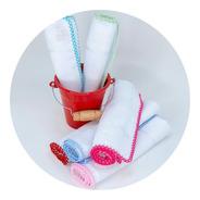 Fraldinha Boca Crochet Mabber - Pintar Bordar - 50un Promo